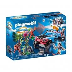 Монстр-грузовик с Алекс и Рок Брок Playmobil