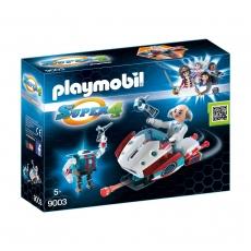Скайджет с доктором Х и робот Playmobil