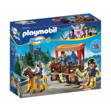 Королевская Трибуна с Алексом Playmobil