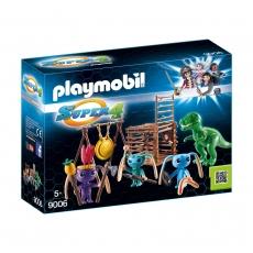 Инопланетный воин с Т-рекс ловушкой Playmobil