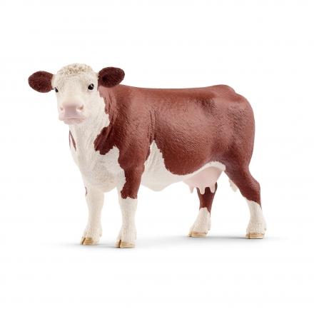Фигурка Schleich Герефордская корова