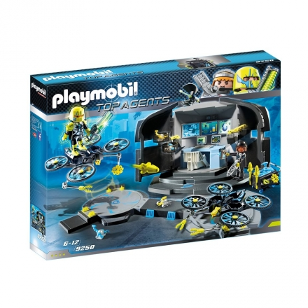 Набор Playmobil Командный пункт доктора Дрона