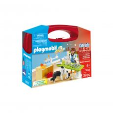 Набор Playmobil Посещение ветеринарной клиники
