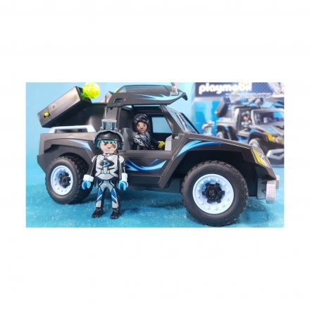 Набор Playmobil Пикап доктора Дрона