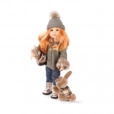 Кукла Ханна с собачкой