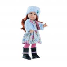 Кукла Paola Reina Soy Tu Бекки в голубом, 42 см