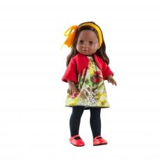 Кукла Paola Reina Soy Tu Амор в красной кофте, 42 см
