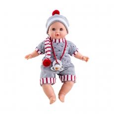 Кукла Paola Reina Алекс в шарфике, 36 см, озвученная