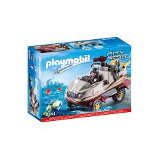 Набор Playmobil Бандитский грузовик-амфибия