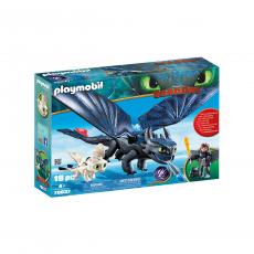 Набор Playmobil Иккинг и Беззубик