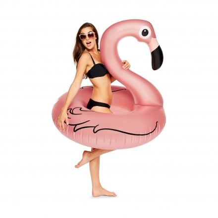 Круг надувной BigMouth Flamingo Rose Gold
