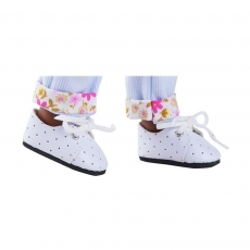 Ботинки белые для кукол Paola Reina 32 см