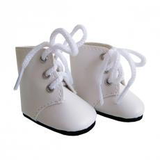 Ботинки белые, для кукол Paola Reina 32 см