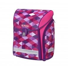Ранец Herlitz New Midi Pink Cubes
