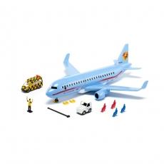 Самолет пассажирский Siku с аксессуарами