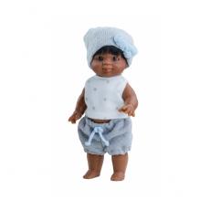 Кукла-пупс Иван, 21 см, мулат