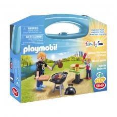 Набор Playmobil отдых с барбекю, возьми с собой