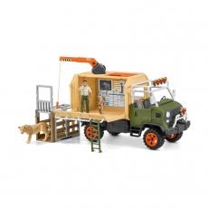 Набор Schleich Большой ветеринарный спасательный грузовик