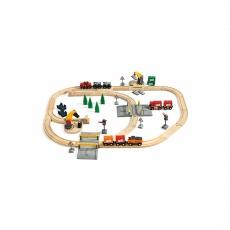 Набор Brio Грузоперевозки с самодвижущимся поездом