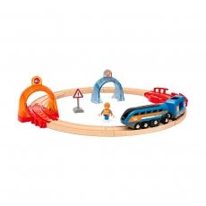 Подарочный набор Brio Smart Тech «Круговой тоннель»