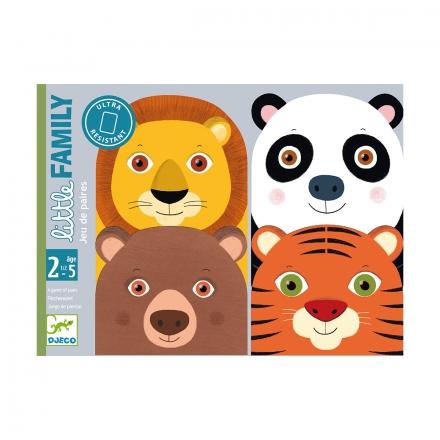 Детская настольная карточная игра Djeco Семейка