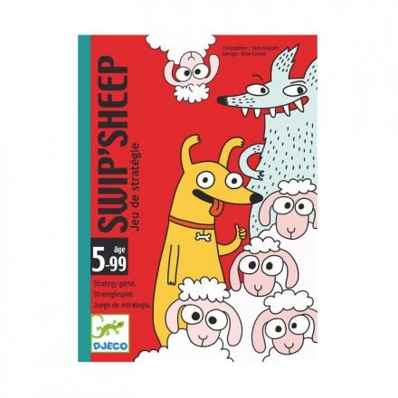 Детская настольная карточная игра Djeco Овечки