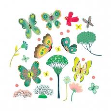 Наклейки на окна Djeco Бабочки в саду