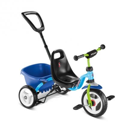 Трехколесный велосипед Puky Ceety, голубой (уценка)
