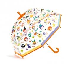 Зонтик Djeco Личики, меняет цвет