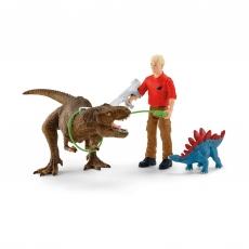 Набор Schleich Атака Тиранозавра Рекса