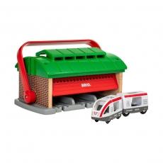 Депо-переноска Brio для трех поездов