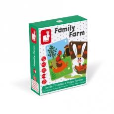 Игра настольная Janod «Счастливые семейки: ферма»