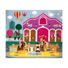 Набор деревянных фигурок Janod «Маленькие истории. Школа верховой езды»