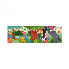 Пазл панорамный Janod «Джунгли», 36 элементов