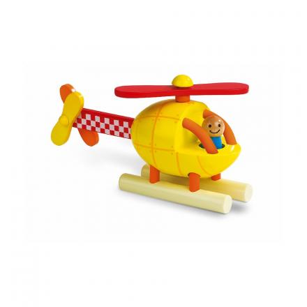 Конструктор магнитный Janod «Вертолет»