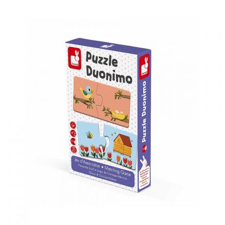 Пазл Janod «Duonimo. Найди соответствие»