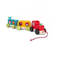 Каталка на веревочке Le Toy Van Лесной экспресс