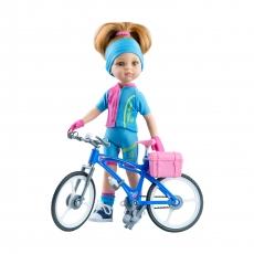 Кукла Paola Reina Даша велосипедистка, 32 см