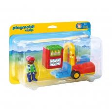 Набор Playmobil Вилочный погрузчик
