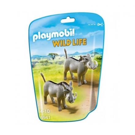 Набор Playmobil Бородавочники