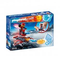 Набор Playmobil Файрбот с диск шутером