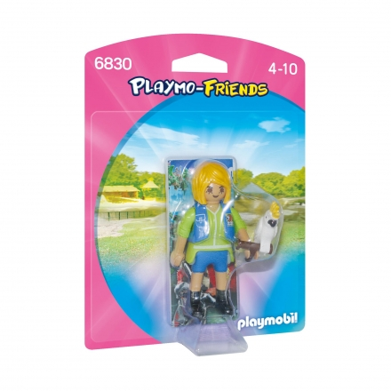 Набор Playmobil Дрессировщик с Какаду