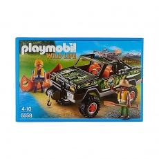Набор Playmobil Пикап с лодкой