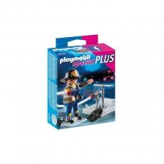 Набор Playmobil Пожарник с гидрантом