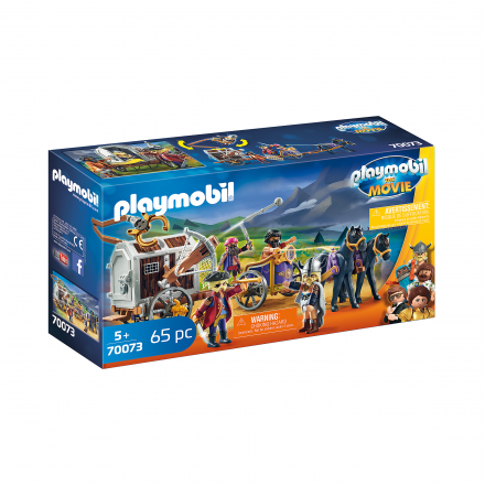 Набор Playmobil Чарли с тюремной повозкой