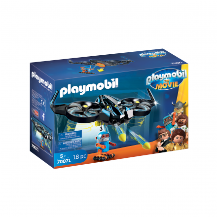 Набор Playmobil Роботитрон встречает Дрона