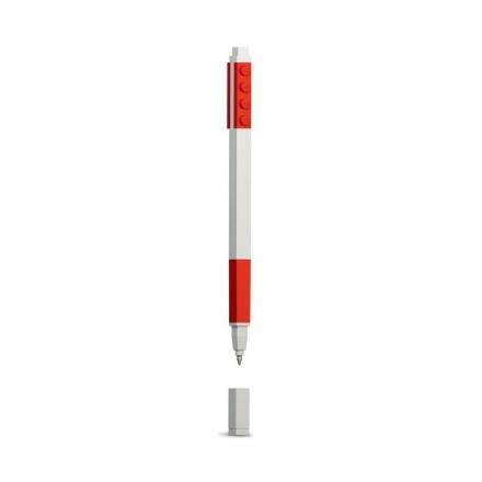 Гелевая ручка Lego, красная