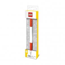 Красная гелевая ручка Lego Classic