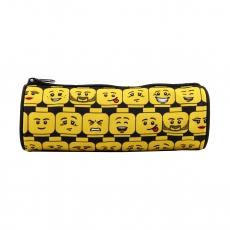Пенал Lego Minifigures Heads круглый