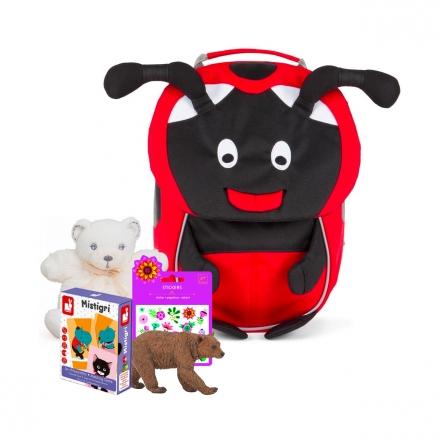 Рюкзак с подарками Affenzahn Lilly Ladybird